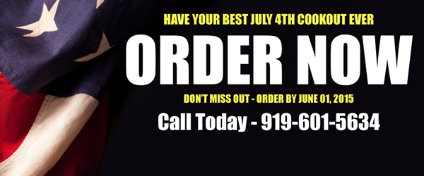 Order Deadline is June 01, 2015