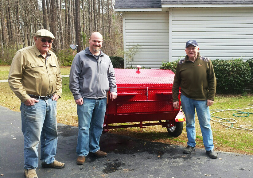 Carolina Pig Cookers, newest owner from Colfax, North Carolina