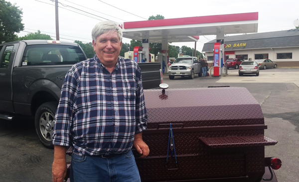 Carolina Pig Cookers new owner, from Milford, Delaware.