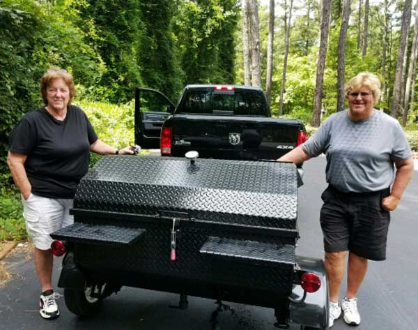 New Carolina Pig Cooker grill owner from Gastonia, North Carolina.