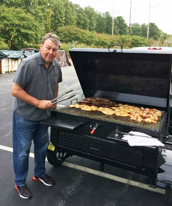 New Carolina Pig Cookers owner, Durham, NC.