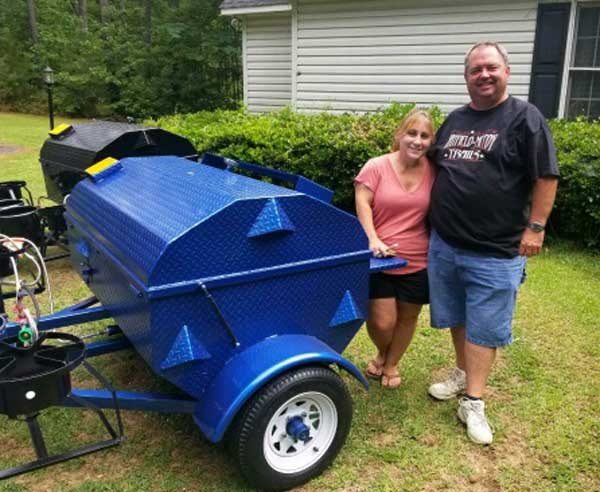 Dale P., new Carolina Pig Cookers owner.