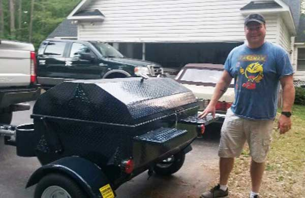 James E. Carolina Pig Cookers new owner.