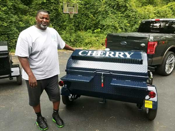 Cherry, new cooker owner.
